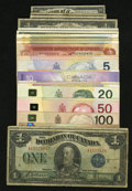 Canadian Currency: , Canadian Assortment.. ... (Total: 29 notes)