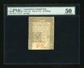 Colonial Notes:Connecticut, Connecticut May 10, 1775 40s PMG About Uncirculated 50....