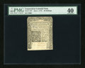 Colonial Notes:Connecticut, Connecticut June 1, 1775 40s PMG Extremely Fine 40....