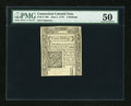 Colonial Notes:Connecticut, Connecticut June 7, 1776 3s PMG About Uncirculated 50....