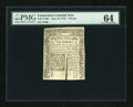 Colonial Notes:Connecticut, Connecticut June 19, 1776 9d PMG Choice Uncirculated 64....