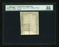 Colonial Notes:Connecticut, Connecticut June 19, 1776 1s/3d PMG About Uncirculated 55....