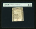 Colonial Notes:Connecticut, Connecticut June 19, 1776 40s PMG Choice Uncirculated 64 EPQ....