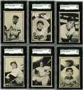 Baseball Cards:Sets, 1953 Bowman Baseball Black & White Complete Set (64)....