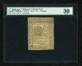 Colonial Notes:Delaware, Delaware May 1, 1777 6s PMG Very Fine 30....