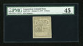 Colonial Notes:Connecticut, Connecticut October 11, 1777 2d Uncancelled PMG Choice ExtremelyFine 45....