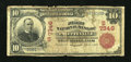Fayetteville, AR - $10 1902 Red Seal Fr. 613 The First NB Ch. # (S)7346
