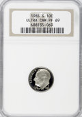 Proof Roosevelt Dimes: , 1985-S 10C PR69 Ultra Cameo NGC. NGC Census: (314/28). PCGSPopulation (2221/54). Numismedia Wsl. Price for NGC/PCGS coin ...
