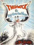 Books:First Editions, Dr. Seuss. Thidwick the Big-Hearted Moose. New York: RandomHouse, [1948]....