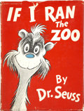 Books:First Editions, Dr. Seuss. If I Ran the Zoo. New York: Random House,[1950]....