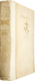 Books:Signed Editions, [Arthur Rackham, illustrator]. James Stephens. Irish FairyTales. London: Macmillan & Co., 1920....