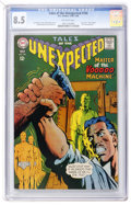 Silver Age (1956-1969):Horror, Tales of the Unexpected #104 (DC, 1968) CGC VF+ 8.5 Off-whitepages....