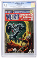 Bronze Age (1970-1979):Horror, Weird Western Tales #12 (DC, 1972) CGC FN/VF 7.0 Off-white to whitepages....