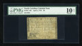 Colonial Notes:North Carolina, North Carolina April 2, 1776 $8 PMG Very Good 10 Net....