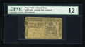 Colonial Notes:New York, New York April 20, 1758 £10 PMG Fine 12 Net....