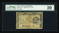 Colonial Notes:New York, New York March 5, 1776 $1/4 PMG About Uncirculated 50....
