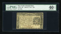 Colonial Notes:New York, New York March 5, 1776 $2/3 PMG Extremely Fine 40 EPQ....