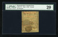 Colonial Notes:Pennsylvania, Pennsylvania May 1, 1760 £5 PMG Very Fine 20....