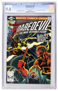Daredevil #168 (Marvel, 1981) CGC NM/MT 9.8 Off-white to white pages