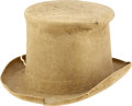 Political:3D & Other Display (pre-1896), Harrison & Reid: 1892 Election Top Hat. ...