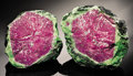 Minerals:Cabinet Specimens, RUBY IN ZOISITE - SPLIT NODULE. ...