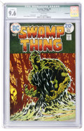 Bronze Age (1970-1979):Horror, Swamp Thing #9 (DC, 1974) CGC Qualified NM+ 9.6 Incomplete - Whitepages....