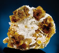 Minerals:Crystals, CLAY CENTER FLUORITE & CELESTITE. ...