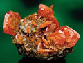 Minerals:Crystals, AMERICAN MINERAL CLASSIC: RED CLOUD WULFENITE. ...