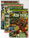 Bronze Age (1970-1979):Horror, Man-Thing Group (Marvel, 1972-81) Condition: Average FN.... (Total:71 Comic Books)