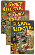 Golden Age (1938-1955):Science Fiction, Space Detective #1-4 Group (Avon, 1951-52) Condition: AverageGD+.... (Total: 4 Comic Books)