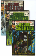 Silver Age (1956-1969):Mystery, House of Secrets #81-85 Group (DC, 1969-70) Condition: AverageVF-.... (Total: 5 Comic Books)