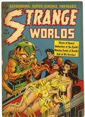 Golden Age (1938-1955):Horror, Strange Worlds #5 (Avon, 1951) Condition: GD/VG....