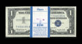 Small Size:Silver Certificates, Fr. 1621 $1 1957B Silver Certificates. Original Pack of 100. Gem Crisp Uncirculated.. ... (Total: 100 notes)