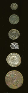 Ancients:Ancient Lots  , Ancients: Lof of six miscellaneous ancient coins.... (Total: 6coins)