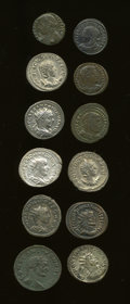 Ancients:Ancient Lots  , Ancients: Lot of twelve Later Roman Imperial.... (Total: 12 coins)