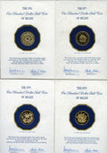 Belize, Belize: Commonwealth gold Assortment,... (Total: 7 coins)