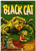Golden Age (1938-1955):Horror, Black Cat Mystery #53 (Harvey, 1954) Condition: VF/NM....