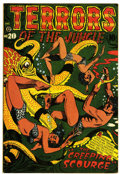 Golden Age (1938-1955):Horror, Terrors of the Jungle #20 (Star, 1952) Condition: FN/VF....