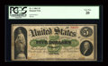 Large Size:Demand Notes, Fr. 1 $5 1861 Demand Note PCGS Very Fine 20....