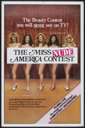 "Movie Posters:Sexploitation, The Miss Nude America Contest (The Jerry Gross Organization,R-1980). One Sheet (27"" X 40.5""). Sexploitation...."