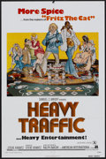 "Movie Posters:Animated, Heavy Traffic (American International, 1973). One Sheet (27"" X41""). Animated...."