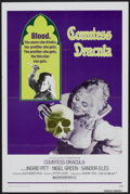 "Movie Posters:Horror, Countess Dracula (20th Century Fox, 1972). One Sheet (27"" X 41""). Horror...."