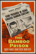 "Movie Posters:War, The Bamboo Prison (Columbia, 1954). One Sheet (27"" X 41""). War....."