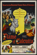 "Movie Posters:Adventure, Flame of Calcutta (Columbia, 1953). One Sheet (27"" X 41"").Adventure...."