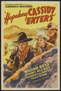 "Movie Posters:Western, Hop-a-long Cassidy (Goodwill, R-1946). One Sheet (27"" X 41""). Western...."