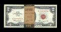 Small Size:Legal Tender Notes, Fr. 1513 $2 1963 Legal Tender Notes. Ninety-nine Consecutive Examples. Choice Crisp Uncirculated.. ... (Total: 99 notes)