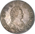 France, France: Louis XV Ecu 1715W,...