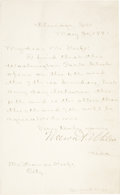 Autographs:Military Figures, Nelson A. Miles Letter Signed During Indian Wars....