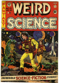 Golden Age (1938-1955):Science Fiction, Weird Science #10 (EC, 1951) Condition: VG+....