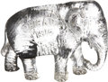 Political:3D & Other Display (1896-present), Republican National Convention Glass Elephant, 1916....